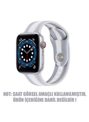 Microsonic Apple Watch Se 44Mm Kordon Town Stripe Gri Gri